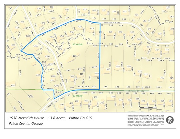 Maps and Boundaries | Meredith House