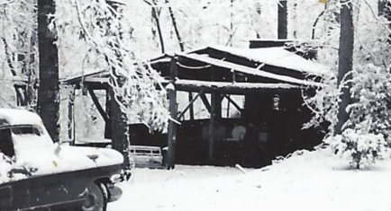Rock barbecue pit 1960