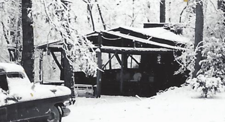Rock BBQ Pit 1960 closeup